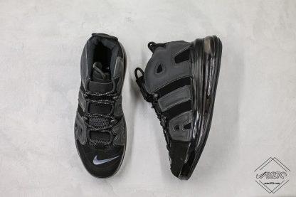 Nike Air More Uptempo 720 Triple Black shoes