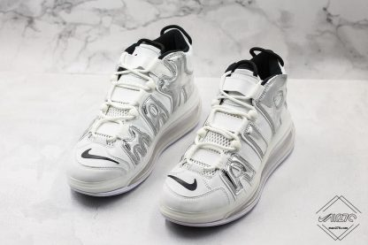 Nike Air More Uptempo 720 White Chrome AIR front look
