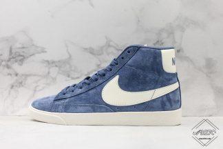 Nike Blazer Mid Vintage Suede Blue White