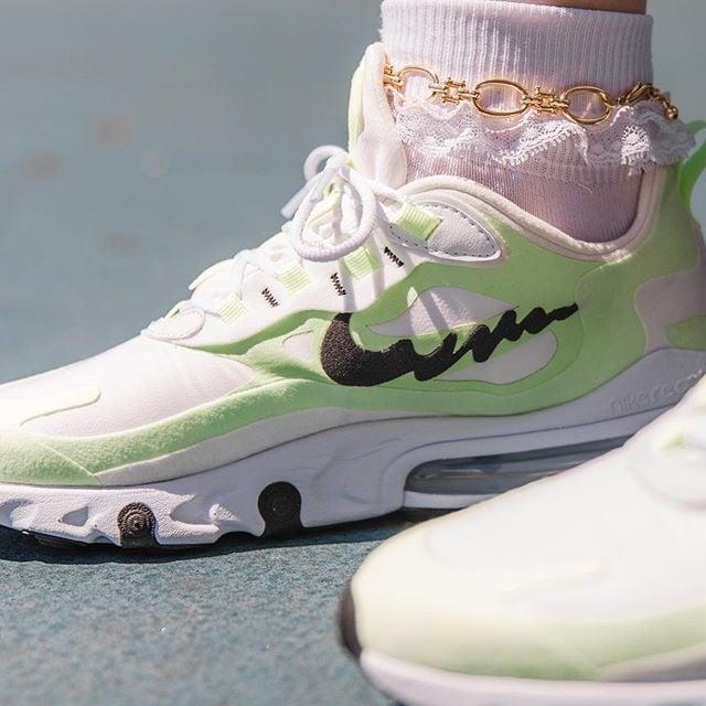 Nike-In-My-Feels-Air-Max-270-React on feet