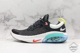 Nike Joyride Run Flyknit Black White- Racer Blue