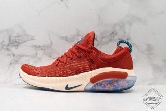 Nike Joyride Run Flyknit Cinnabar Red Blue