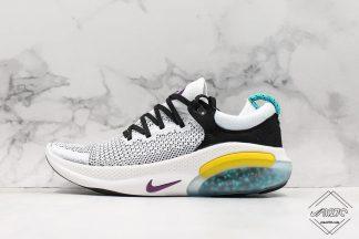 Nike Joyride Run Flyknit White Yellow