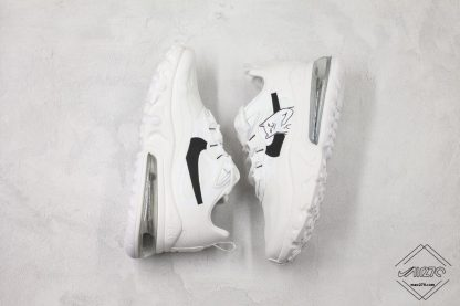Nike React Air Max 270 White black swoosh