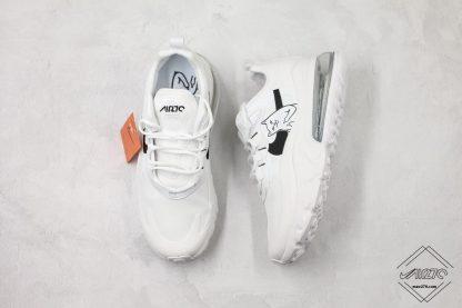Nike React Air Max 270 White tongue
