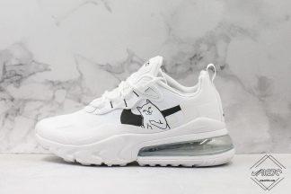 Nike React Air Max 270 White with White Cat