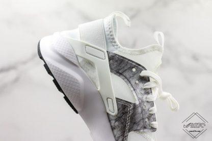 Shop Nike Air Huarache Ultra Suede White Silver