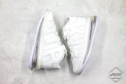 mens Nike Air More Uptempo 720 All White