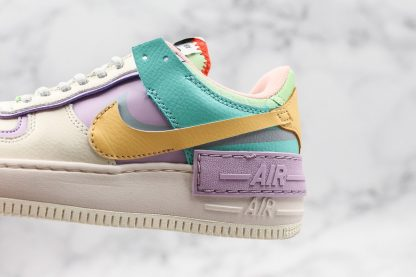 AF1 Shadow Pale Ivory Celestial Gold-Tropical Twist for sale