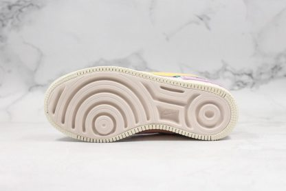 AF1 Shadow Pale Ivory Celestial Gold-Tropical Twist sole