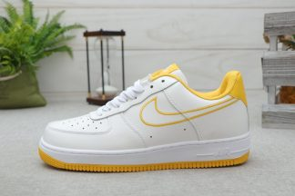 Nike Air Force 1 07 Patent White Yellow Sale