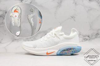 Nike Joyride Run Flyknit White Orange