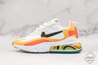 Nike React Air Max 270 React Bright Mango Atomic Mango