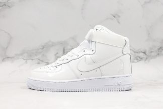 Air Force 1 High Sheed White White