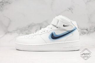 Nike Air Force 1 MID 07 White Swoosh Overlap