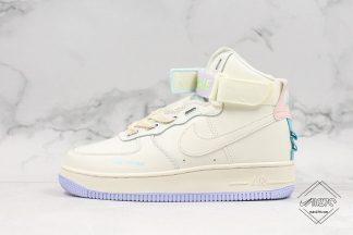 Nike Air Force 1 High UT White Purple Pink Blue