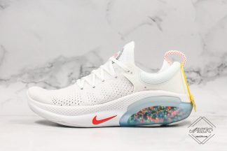 Nike Joyride Run Flyknit White Total Orange