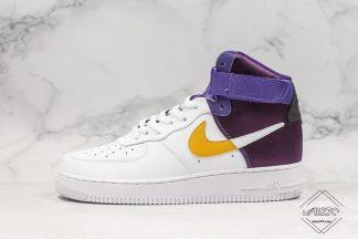 NBA x Nike Air Force 1 High Lakers