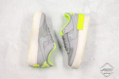 Nike AF-1 Shadow SE Atmosphere Grey Volt shoes