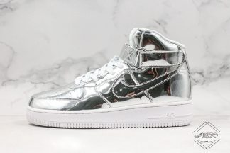 Nike Air Force 1 High Metallic Silver