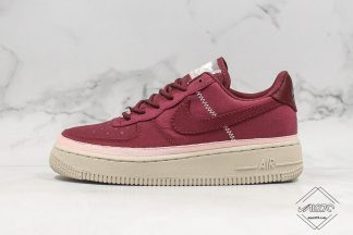 WMNS Air Force 1 SE Night Maroon Coral Dust