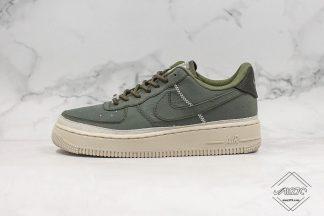 Wmns Nike Air Force 1 SE Nylon Cargo Green