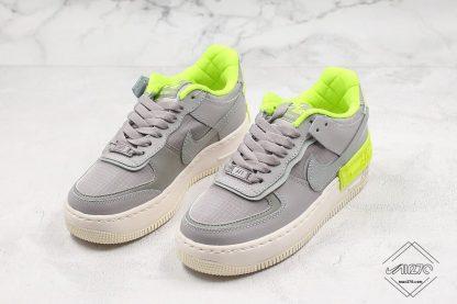 shop Nike AF-1 Shadow SE Atmosphere Grey Volt