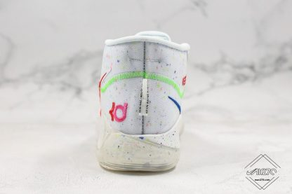Enspire x Nike KD 12 in White heel