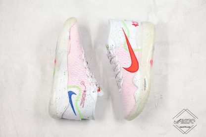 Enspire x Nike KD 12 in White pink
