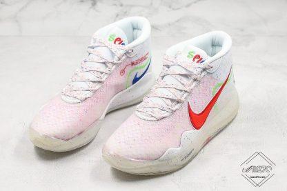 Enspire x Nike KD 12 in White red