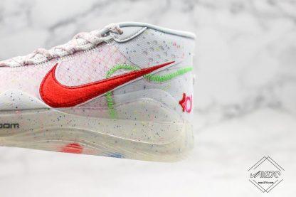 Enspire x Nike KD 12 in White volt
