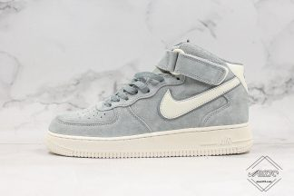 Nike Air Force1 Mid 07 3M Grey Suede