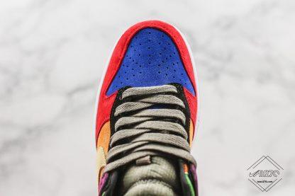 Nike Dunk Low Viotech blue upper