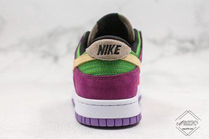 Nike Dunk Low Viotech heel back
