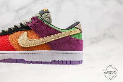 Nike Dunk Low Viotech purple suede