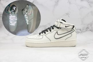 Nike Air Force 1 Mid 3M Reflective Cream White