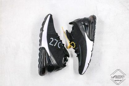 Mens Air Max 270 Flyknit Black White sneaker