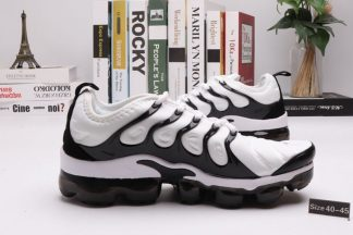 Mens Nike Air VaporMax Plus White Black