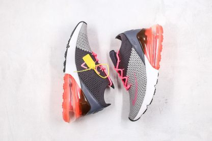 Nike Air Max 270 Flyknit Grey Pink for sale