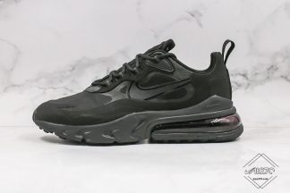 Nike Air Max 270 React Triple Black Oil Grey
