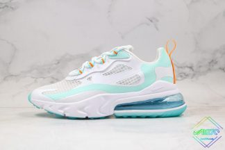 Nike Air Max 270 React White Jade Frosted Spruce