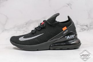 Off White Nike Air Max 270 Flyknit in Women Size