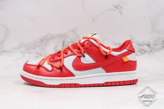 Off-White Nike Dunk Low UNLV University Red