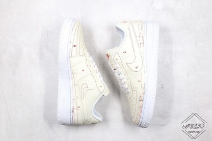 Air Force 1 Low LX Blueprint Summit White 2020