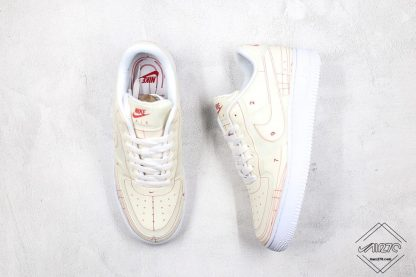 Air Force 1 Low LX Blueprint Summit White Shoes