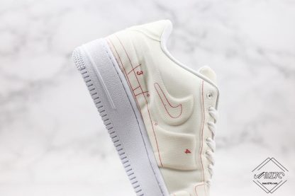 Air Force 1 Low LX Blueprint Summit White close look