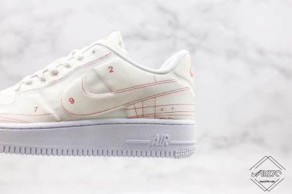 Air Force 1 Low LX Blueprint Summit White red