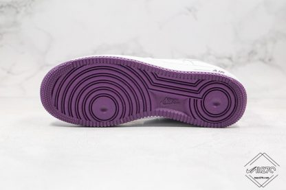 Nike Air Force 1 Low Voltage Purple bottom sole