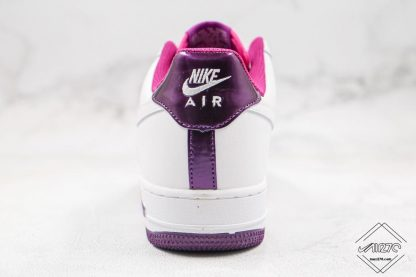Nike Air Force 1 Low Voltage Purple heel