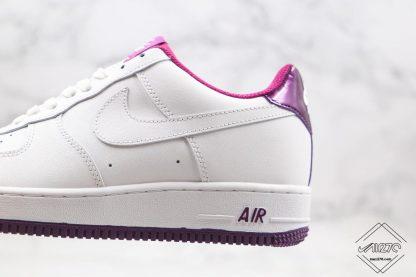 Nike Air Force 1 Low Voltage Purple whtie swoosh